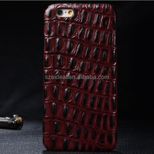 Super quality crocodile skin mobile phone case for Iphone 6 Plus