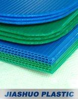 Sealed edge Round corner Corrugated Plastic Sheet