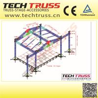 Manufacturers On Sale Aluminum Triangular Roof Truss