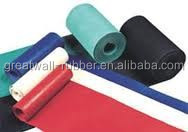 Eco-friendly Natural Abrasion Resiatance smooth or fabric surface SBR Raw Material Rubber Sheet