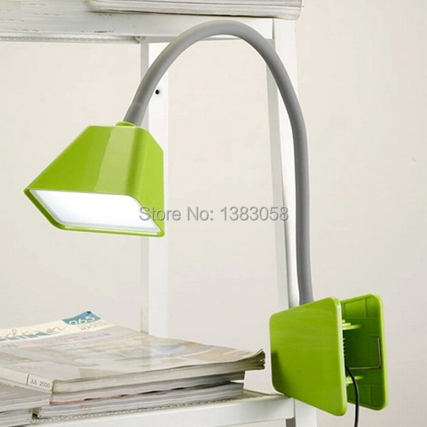 bed reading light clip on 1
