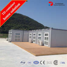 Complete functions container shed