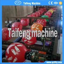 Látex de látex natural de cumpleaños del globo / de cumpleaños decoración del partido del globo impresión línea de la máquina