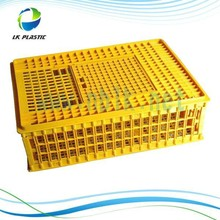 Plastic cage for transport live chickens
