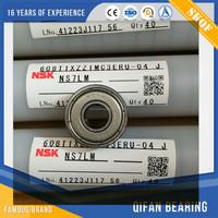 NSK miniature deep groove ball bearing 608z