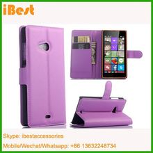 iBest wallet leather case for nokia lumia 540, leather flip cover for lumia 540