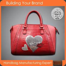 2015 hot sell factory brand woman fashion handbag