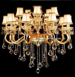 lustre cristal chandelier hanging light in zhongshan
