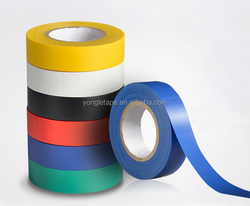 PVC adhesive insulation tape for electrical wire application