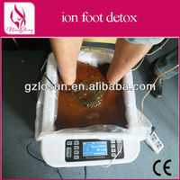 Muti-function detox foot spa Ion cleanser with remoter