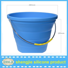 2015 silicone ice bucket can collapsible with hight quality used in bar