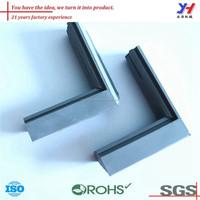 OEM ODM customized plastic/silicone shower door seal strip/sponge rubber door seal strip