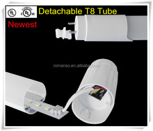 Newest 2014 UL/CUL,DLC led tube light,reasonable price from Romanso company