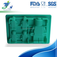 Custom New Design Food Grade Silicone Ice Cube Tray, Candy Molds
