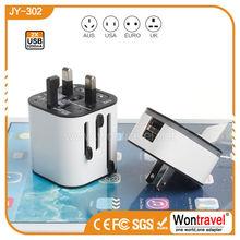 Wontravel OEM promotional universal plug converter uk/us/eu/au plug,Universal converter plug supplier
