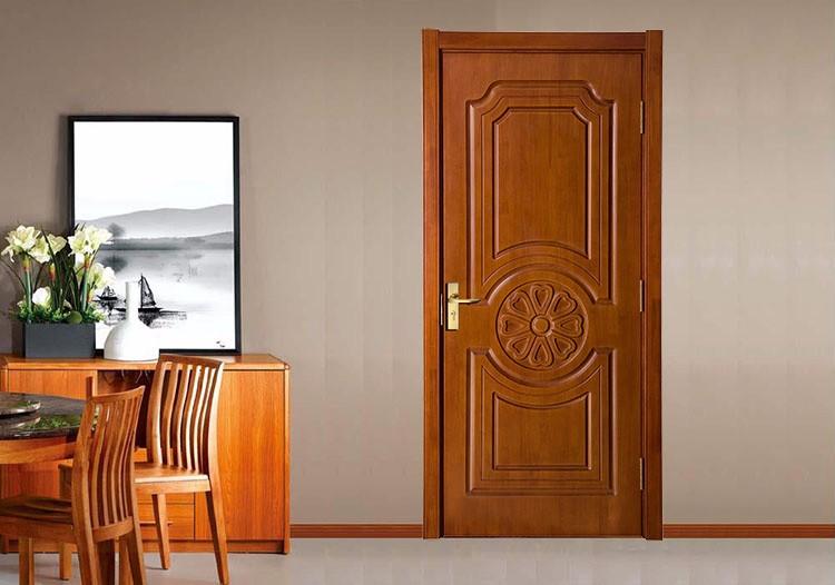 Placage de teck sculpture en bois kerala salon principaux for Porte de salon en bois