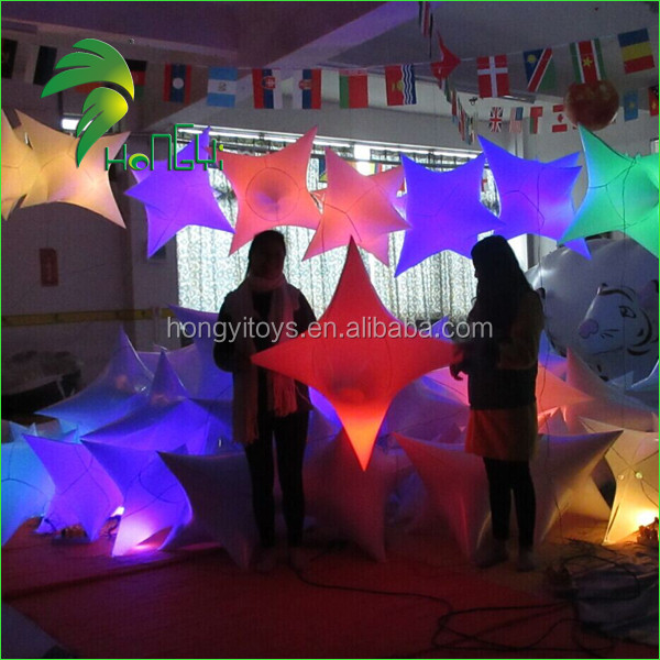 inflatable colorful led star balloon (4)