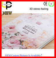 New 3D stereo painting tablet cover for ipad wholesale