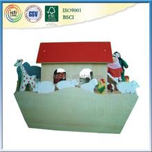 Wooden Noah's Ark ---Model Ship for Kids