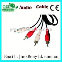 Good Speed female usb to male rca cable High Quality