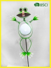 Cute animal solar powered led stick light with CE ROHS IP44