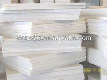2013 HOT SALES white artificial marble tiles quantity bulks