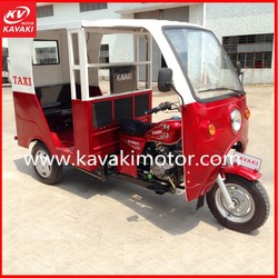 Cabin China Three Wheel Motorcycle/3 Wheel Motorized Mobility Scooter/3 Wheel Electric Tricycle with Passenger Seat