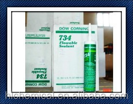 Flowable Adhesive Sealant RTV silicone Dow Corning 734