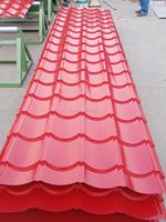 SGCC prepainted galvanized corrugated steel roof sheet