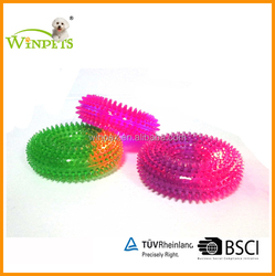 TPR DOGS TOY WITH LED LIGHT