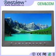 1366*768 professional video camera monitor 10 inch for broadcast field