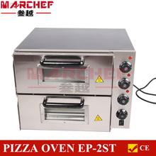 Commercial Restaurant Baking Equipment 2 decks Portable Electric Pizza Oven Sale