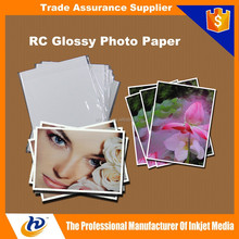 A3 A4 4R 5R 260gsm High Quality Inkjet Glossy Paper RC Photo Paper
