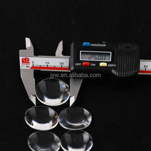 PMMA convex lens with 25mm diameter and 45mm focus lenght