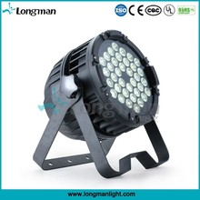 professional 36*5w ROHS RGBAW outdoor led par disco light price