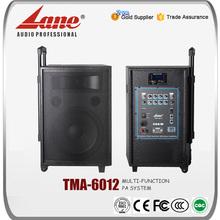 Lane 12 inch multi-function bluetooth amplifier speaker for sale TMA-6012