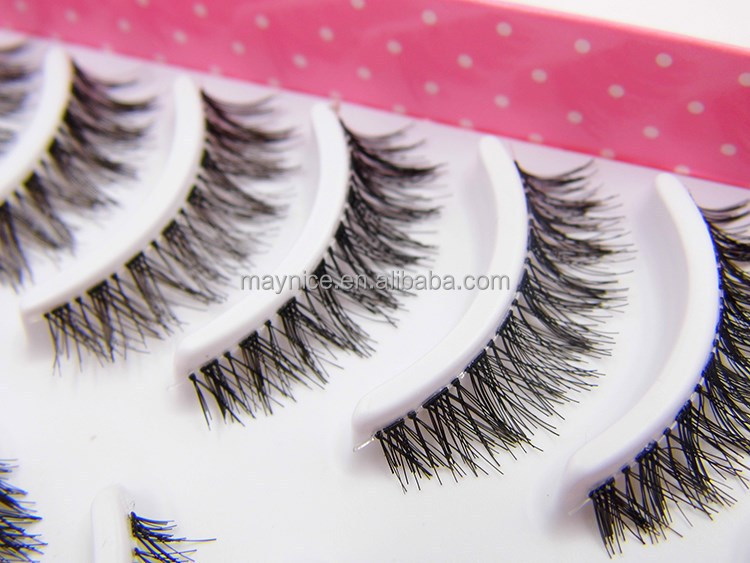 Human Hair False Eyelashes Wholesale 23