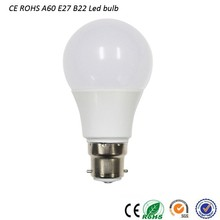 Factory good price hot sale e27 b22 9w 800lm led bulb