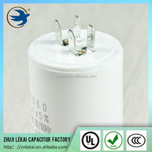 Single-phase AC motor capacitor 450v 5uf for washing machine