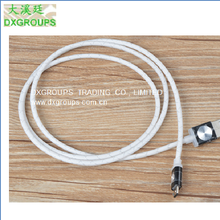 Silver Style Colorful Micro Usb Cable For Cell Phones