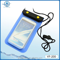 New design waterproof bag for All 4.8-5.5inch screen phones for swimming beach rafting boating