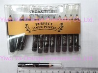 Stock Product Eyeliner Pencil Black Color with PVC Bag