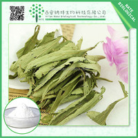 Natural Healthy Sweetener Stevia Extract(steviol Glycosides 98%,Sg98)bulk pure stevia extract 95%
