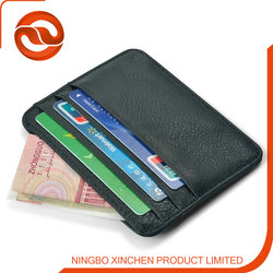 Genuine Leather Business Credit Card Case/mini wallet holder