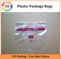 Custom Printed Zip Lock Bags PP Plastic Bag For Shopping