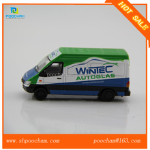 1 87 diecast mini cargo van model toy custom logo
