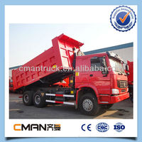 HOWO brand 30T capacity 10 tires 20 cubic meter sand tipper truck for sale