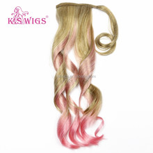 K.S WIGS mix color kanekalon synthetic ombre marley hair braid