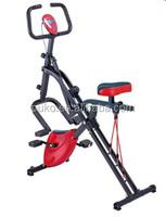 2015 new design fitness equipment 2-IN-1 PRODUCT-X-BIKE+BODY CRUNCH