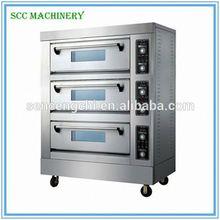 SCC vendita calda perfetta qualità forno per pizze commerciale forno macchina